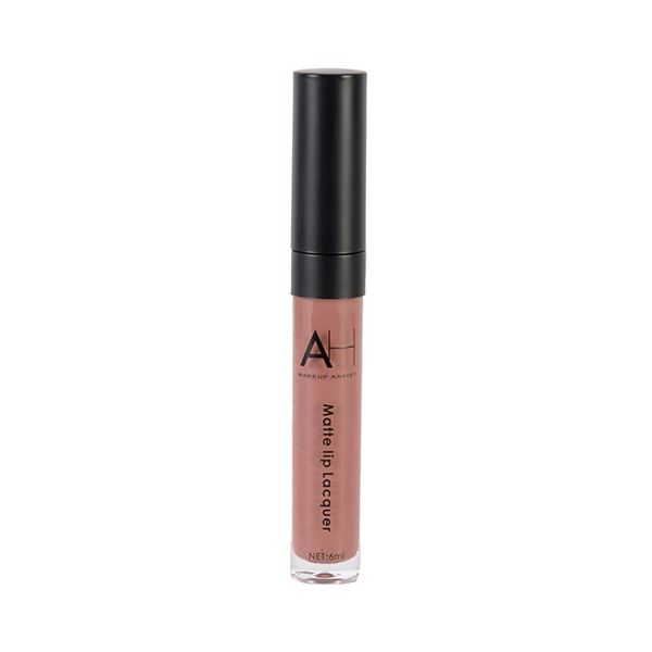 AH Matte Lip Lacquer-Rose Lily - Just One Coat Create Brilliant Finish