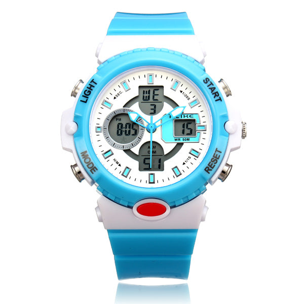 ALIKE AK14102 Sport Date Jelly Backlight Men Women Watch