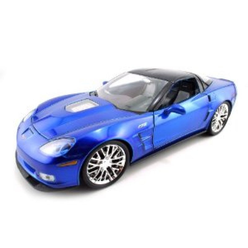 1:18 2009 Corvette Zr1 - Shiny Blue