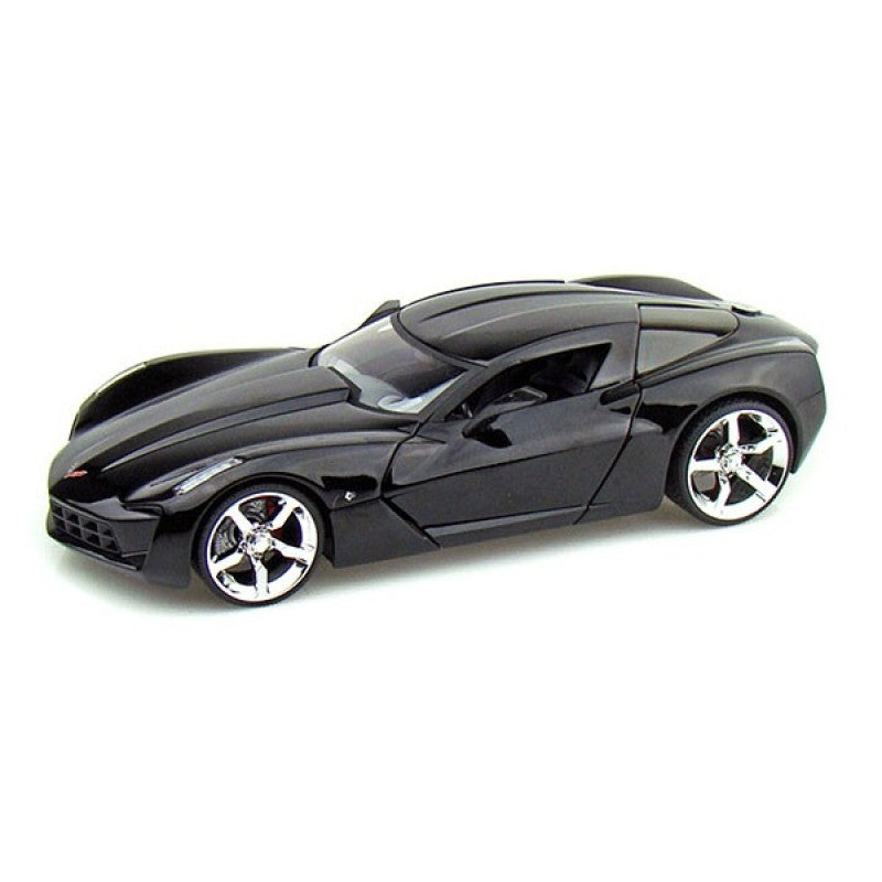 1:18 2009 Corvette Stingray Concept - Glossy Black