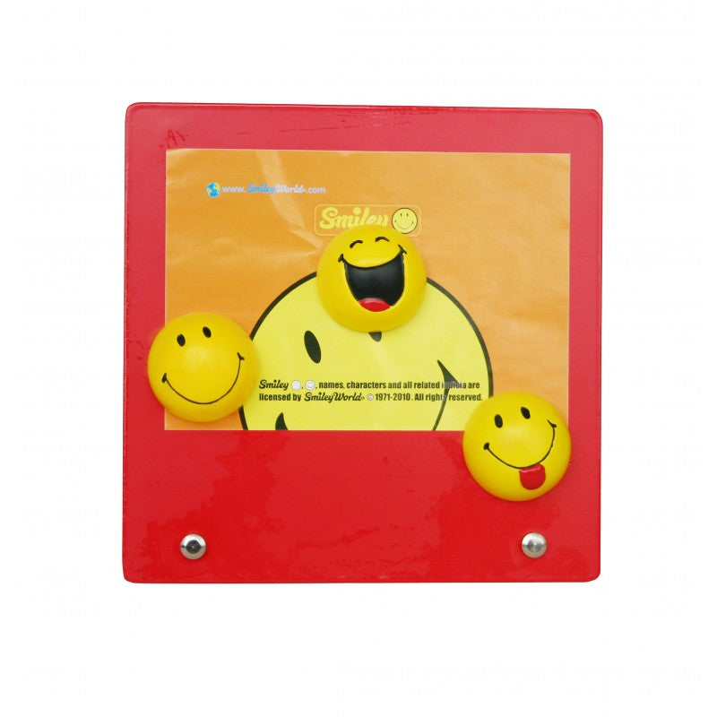 Smiley Moods 3R Magnetic Photo Frame - Red