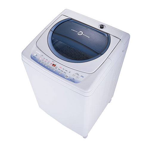 Toshiba Auto Washer, 9.0 Kg, Blue Panel, Metal Body
