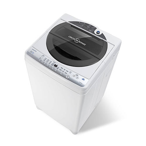 TOSHIBA Auto Washer, 8.0 Kg., Black Panel , Metal body