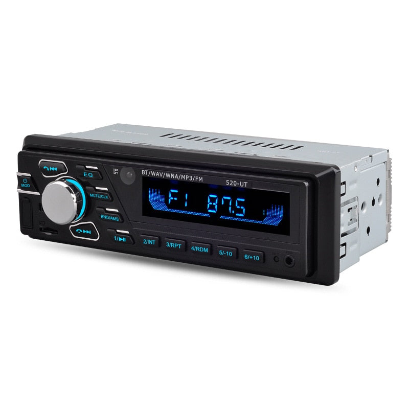 AZGIANT 12V/24V 1Din ISO Car Truck BUS Radio Auto Audio Stereo FM SD AUX USB Interface In-Dash MP3 Player Receiver Device