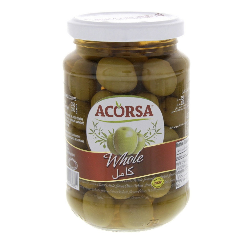 Acorsa Whole Green Olives 200g