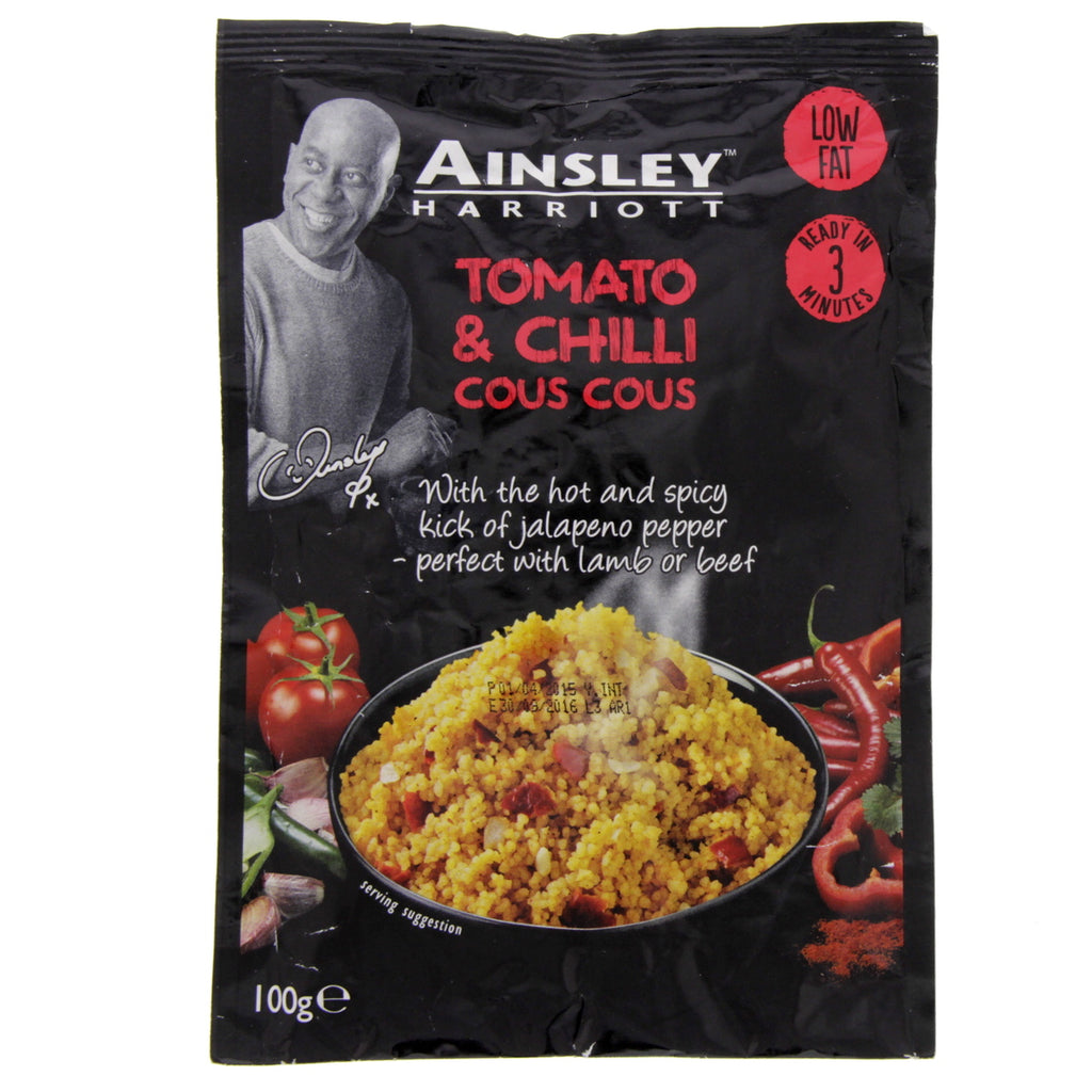 Ainsley Harriott Tomato & Chilli Cous Cous 100g Online in Bahrain