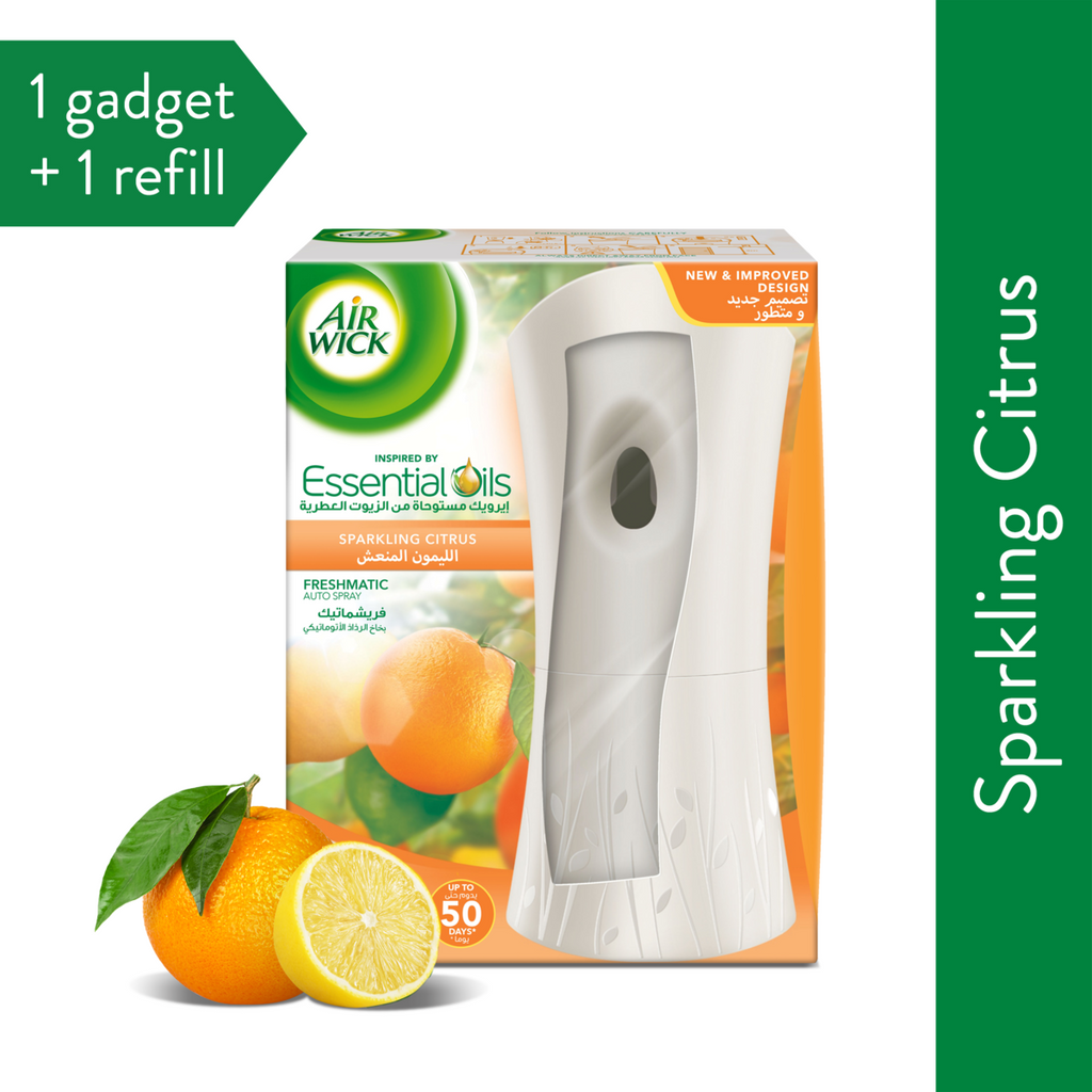 أداة Air Wick Freshmatic + Sparkling Citrus 250 مل