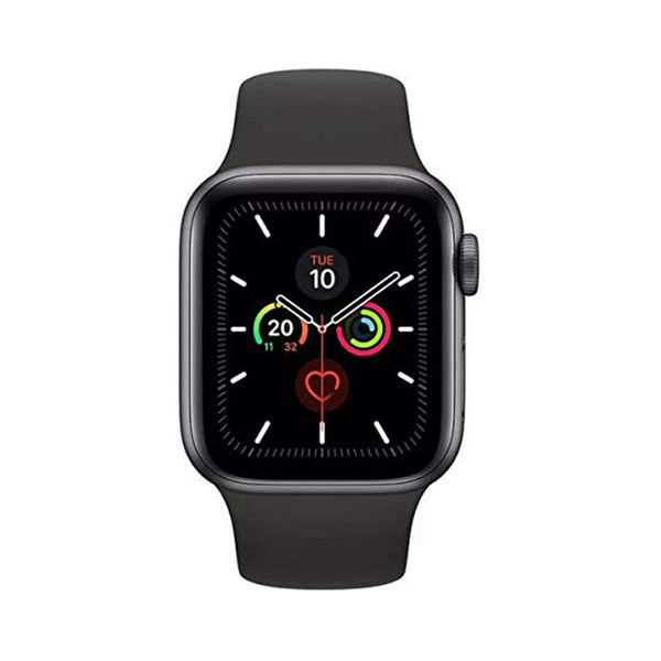 Apple Watch Series 5 GPS MWV82AE 40mm Space Grey Aluminium Case with Black Sport Band