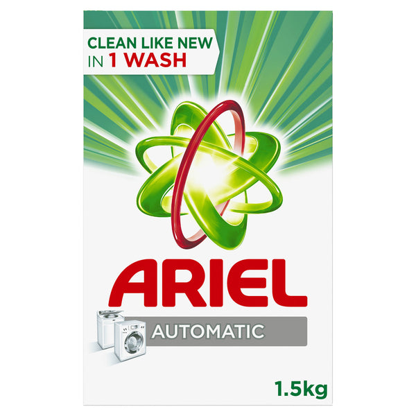 Ariel Automatic Laundry Powder Detergent Original Scent 1.5kg
