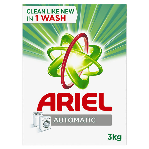 Ariel Automatic Laundry Powder Detergent Original Scent 3kg