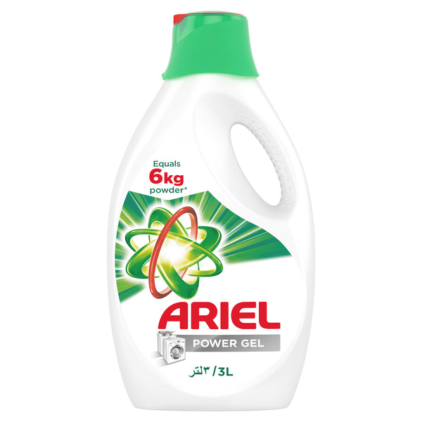 Ariel Automatic Power Gel Laundry Detergent Original Scent 3Litre