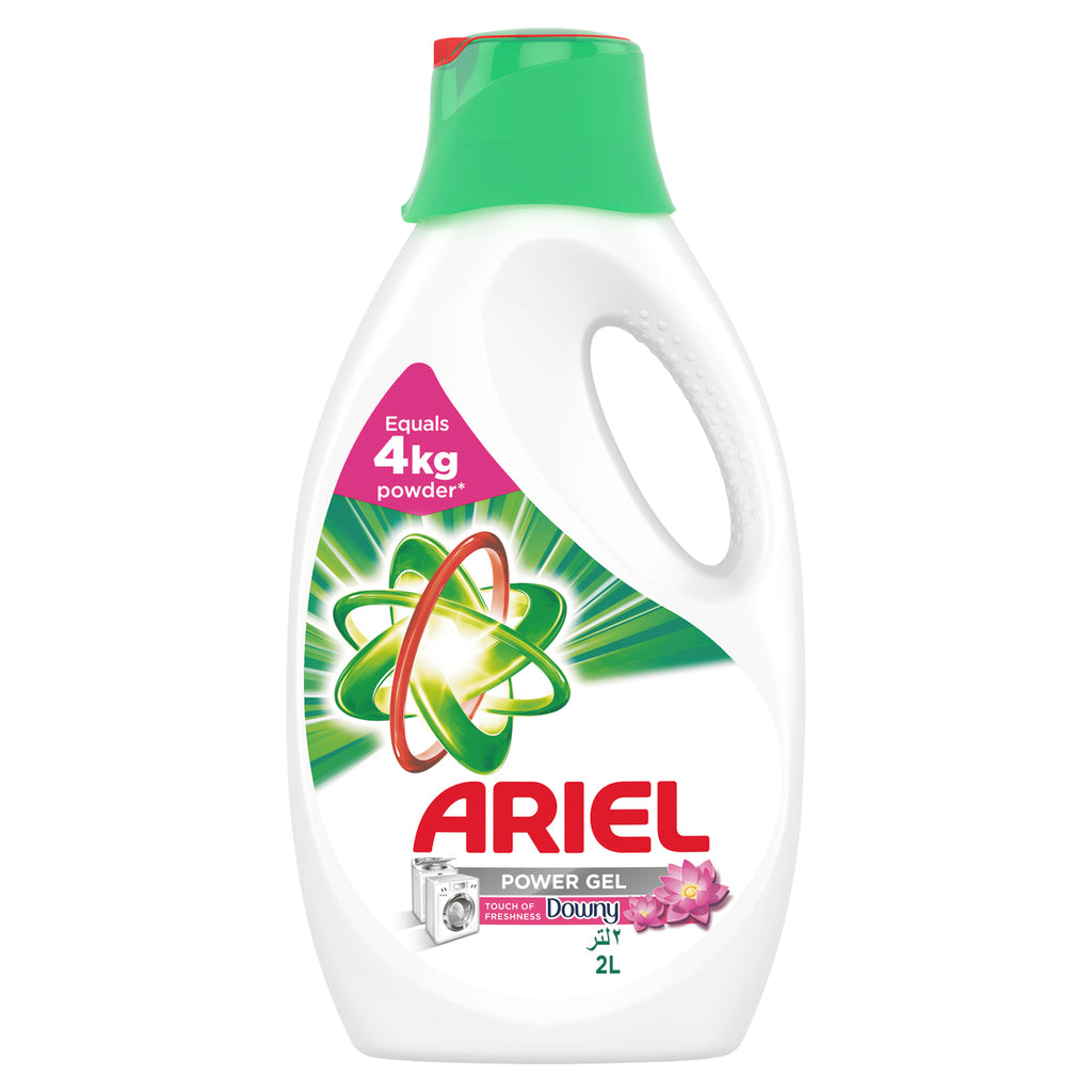 Ariel Automatic Power Gel Laundry Detergent Touch of Freshness Downy 2Litre