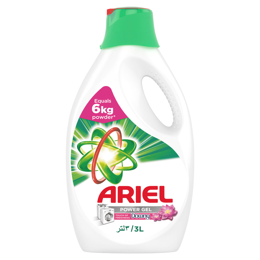 Ariel Automatic Power Gel Laundry Detergent Touch of Freshness Downy 3Litre