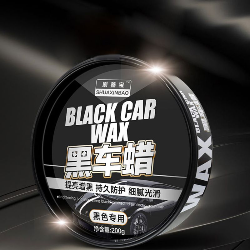Auto Black Wax Care Waterproof Film Coating Hard Wax Paint Repair Scratch