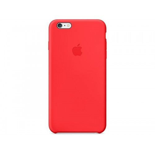 iPhone 6 Plus Silicone Case Red
