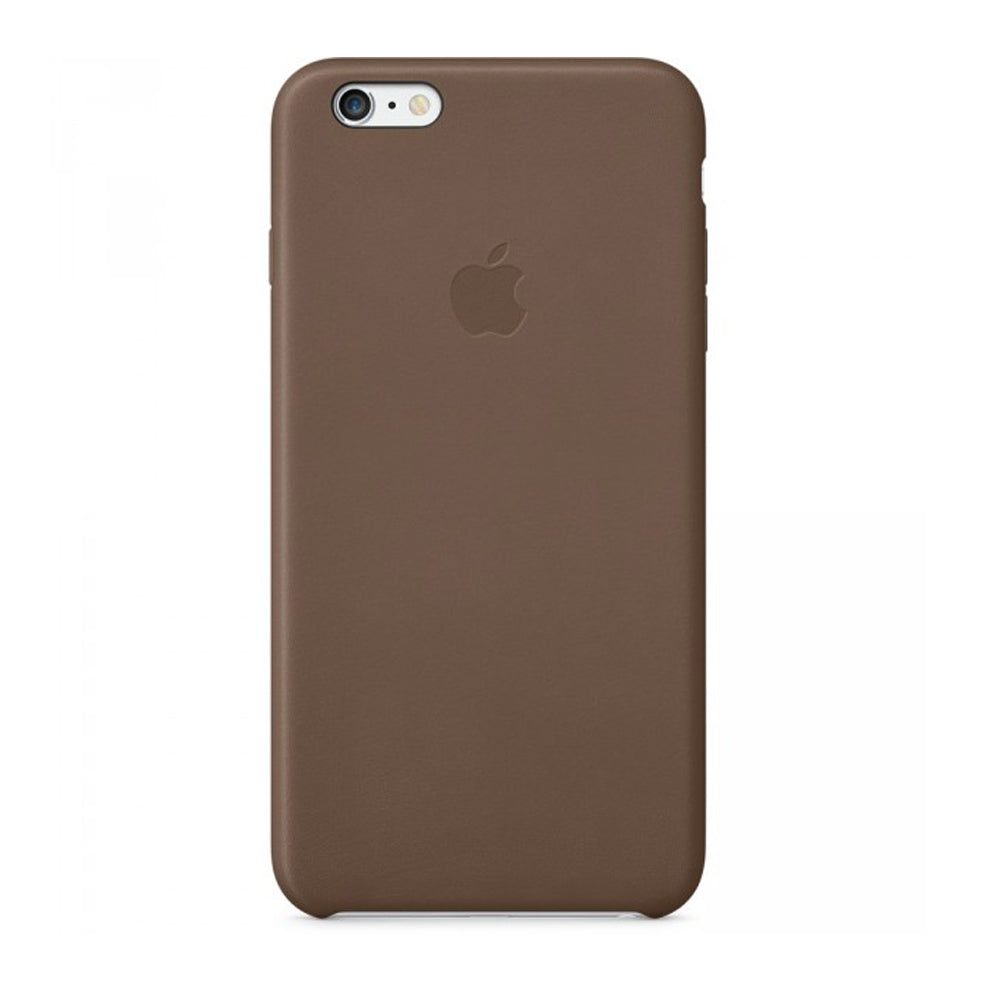 iPhone 6 Plus Leather Case Olive Brown