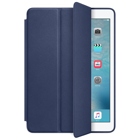 iPad Air 2 Smart Case - Leather - Midnight Blue