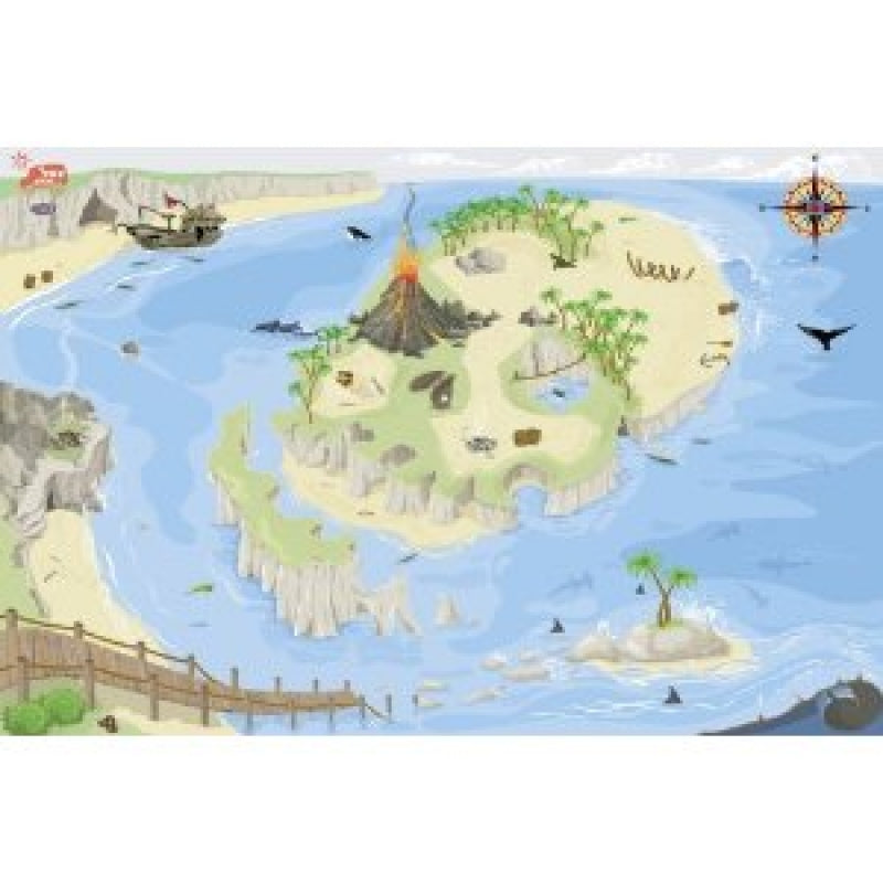 Le Toy Van Pirate world Play mat