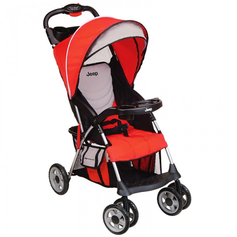 Kolcraft Jeep Cherokee Sport Stroller In Jeep React