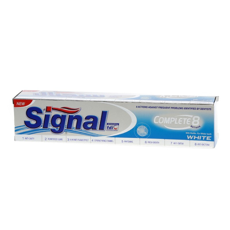Signal Complete 8 Action White
