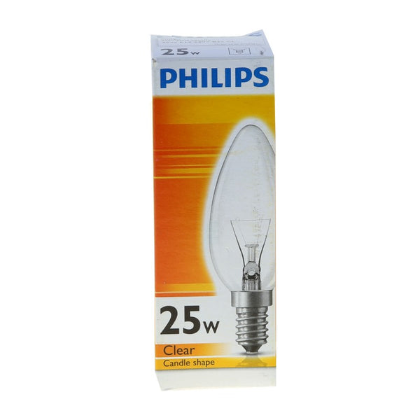 Philips Candle Lamp 25W E14 Clear