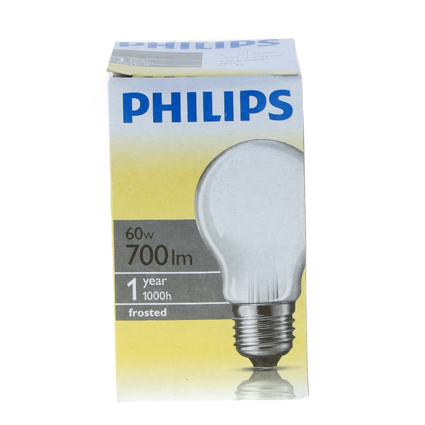 Philips Frosted Bulb gls 60W E27