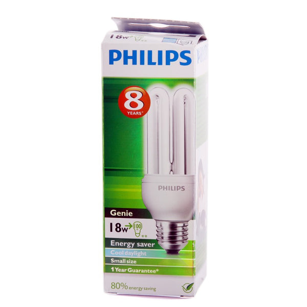 Philips Genie 18W Energy Saver Cool Daylight Bulb
