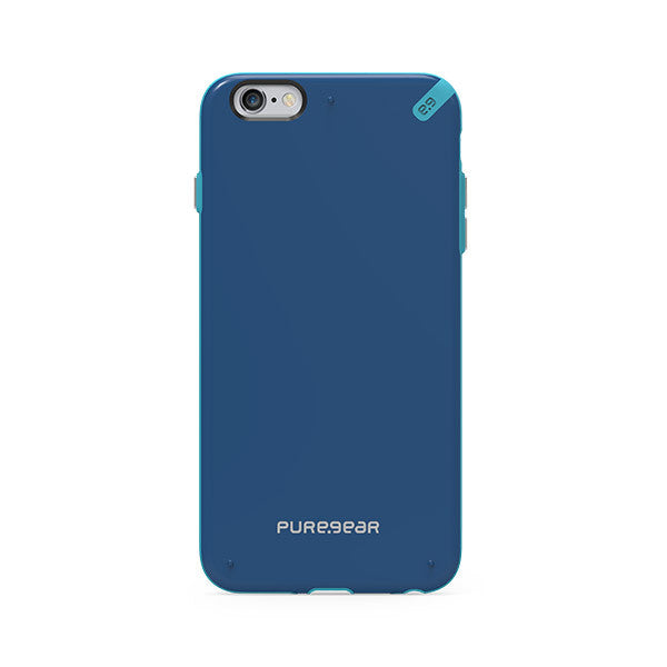 غطاء PureGear Slim Shell لهاتف iPhone 6 Plus - Blue Pacific
