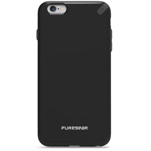 PureGear Slim Shell for iPhone 6 Plus -Black/Black