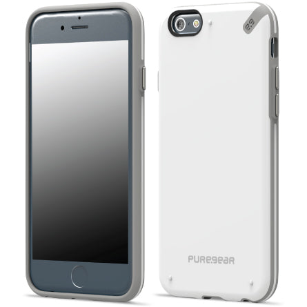 PureGear Slim Shell for iPhone 6 -White /Gray