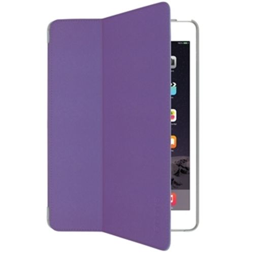AIRCOAT FOLIO HARD CASE FOR IPAD AIR 2 ORCHID PURPLE