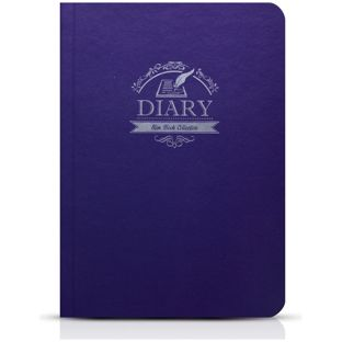 SLIM BOOK FOLIO CASE FOR IPAD AIR 2 PURPLE