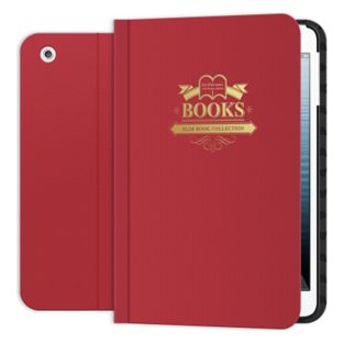 SLIM BOOK FOLIO FOR THE IPAD MINI WITH RETINA & IPAD MINI 3 RED