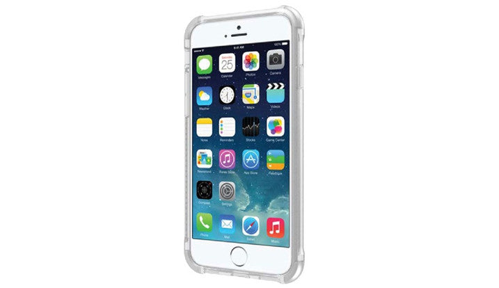 QUAD360 ULTRA PROTECTIVE CASE FOR IPHONE 6 PLUS CRYSTAL CLEAR