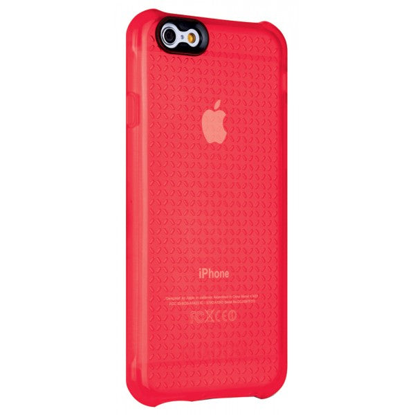 QUAD360 ULTRA PROTECTIVE CASE FOR IPHONE 6 CHERRY RED