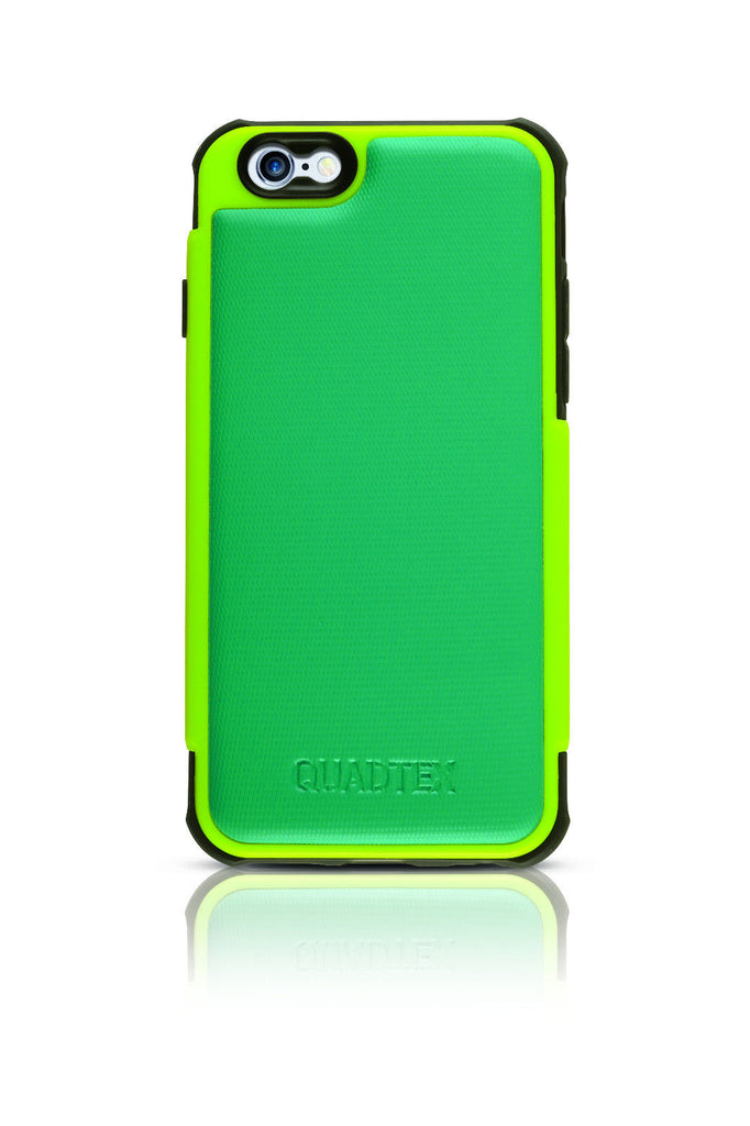 QUADMAX ULTRA PROTECTIVE CASE FOR IPHONE 6 LIME & TURQUOISE