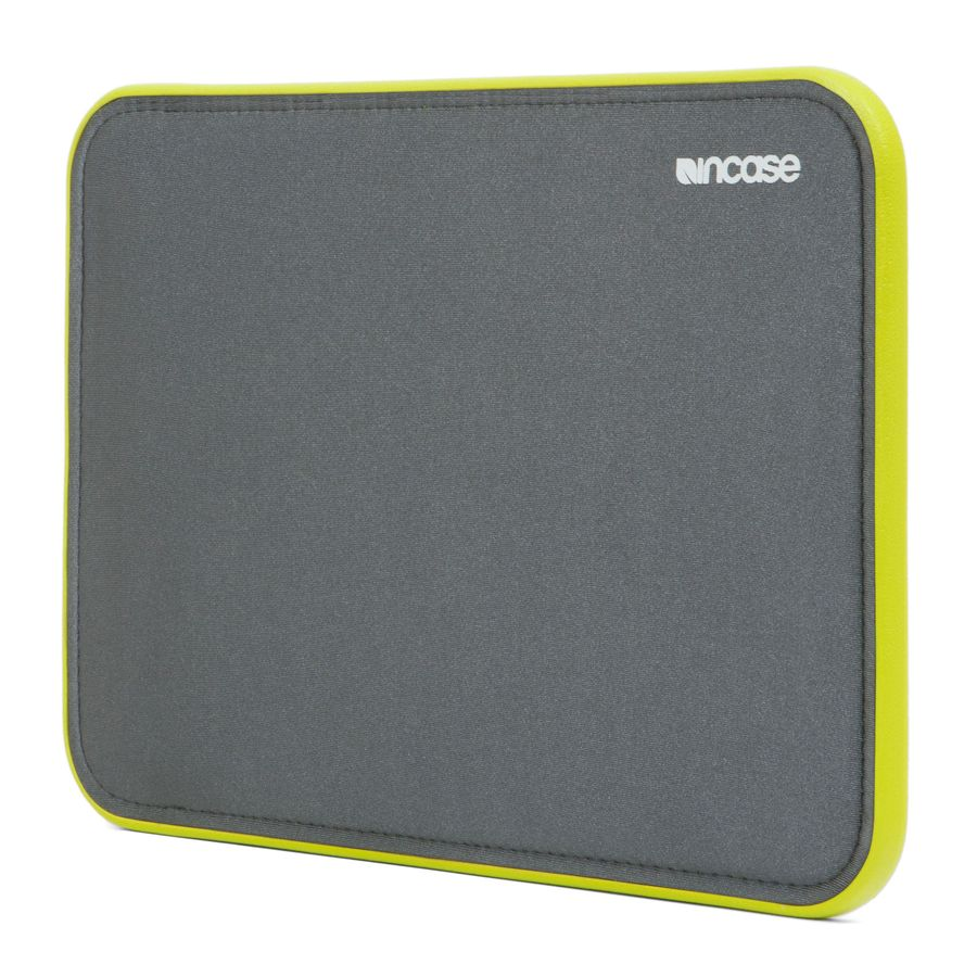Incase ICON Sleeve with TENSAERLITE for iPad Air/Air 2 - Gray/lumen