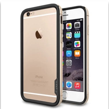 "Spigen iPhone 6 (4.7 """" "") Case Neo Hybrid EX Metal Series Champagne Gold SGP11187"