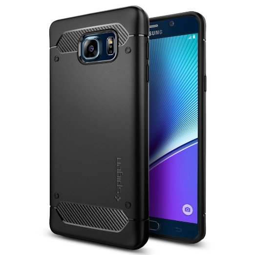 Spigen Galaxy Note 5 Case Capsule Ultra Rugged Black SGP11683