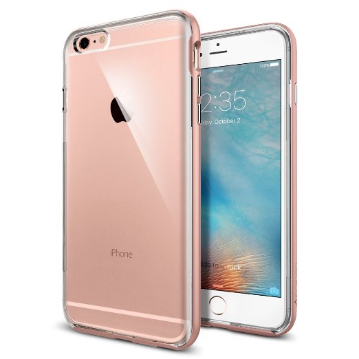 Spigen iPhone 6S Plus Case Neo Hybrid EX Rose Gold SGP11729