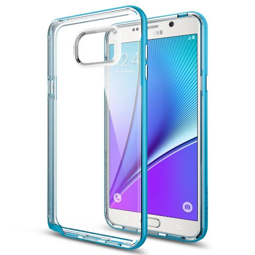 Spigen Galaxy Note 5 Case Neo Hybrid Crystal Blue Topaz SGP11712