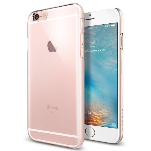 Spigen iPhone 6S Case Thin Fit Crystal Clear SGP11591