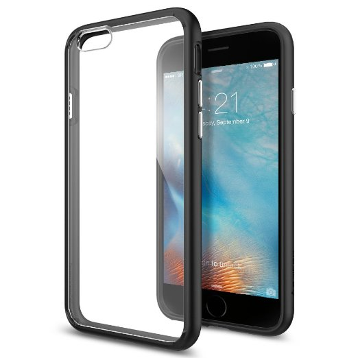 Spigen iPhone 6S Case Ultra Hybrid Black SGP11600