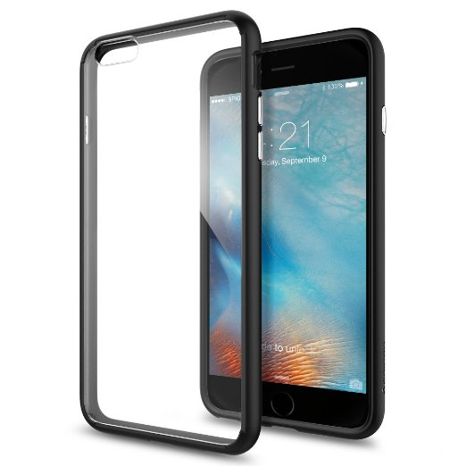 Spigen iPhone 6S Plus Case Ultra Hybrid Black SGP11646