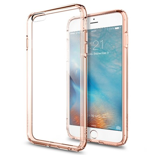 Spigen iPhone 6S Plus Case Ultra Hybrid Rose Crystal SGP11726