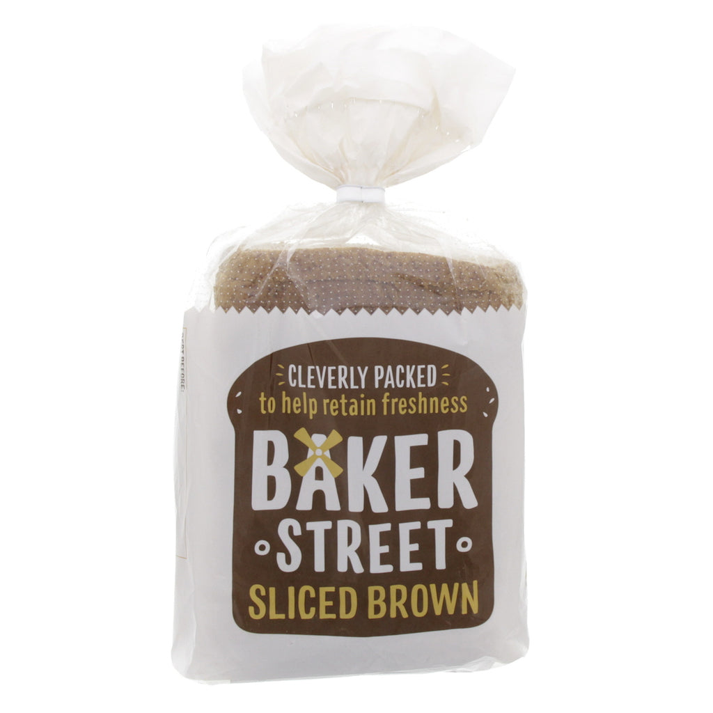 Baker Street Medium Brown Sliced Bread 600g