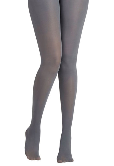 Bellewe Super Soft & Silky Grey Pantyhose Tights