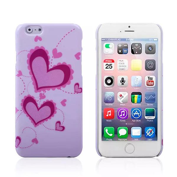 Big Small Love Water Stick PC Mobile Shell Case For iPhone 6 Plus & 6s Plus