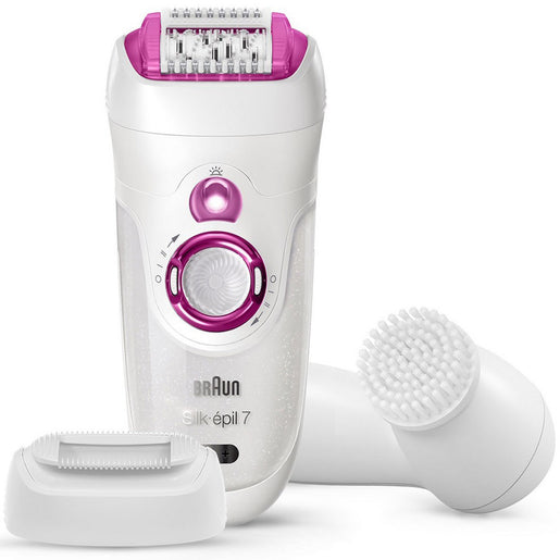 Braun Silk Wet & Dry Epilator7+Brush 7-539