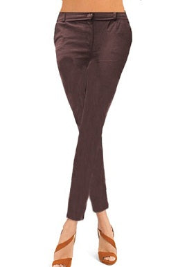 Brown Coloured Skinny Jeggings